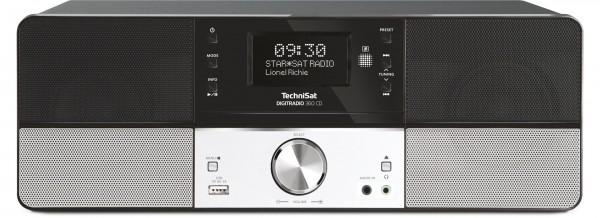 TechniSat DigitRadio 360 CD DAB+/UKW Stereo-Designradio
